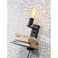 thumb-Wandlamp FLORENCE Small: met boekenplank en usb-oplader-4