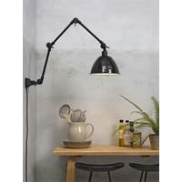 thumb-Wandlamp / Plafondlamp Amsterdam metaal zwart (maat L)-5
