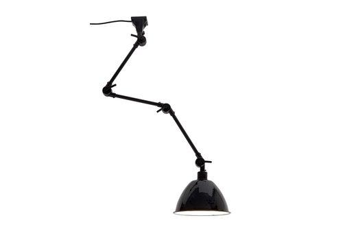 Plafond/wandlamp Amsterdam metaal L