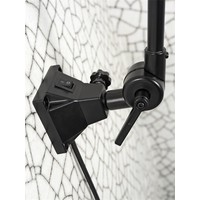 thumb-Wandlamp / Plafondlamp Amsterdam metaal zwart (maat L)-9
