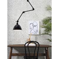 thumb-Wandlamp / Plafondlamp Amsterdam metaal zwart (maat L)-4