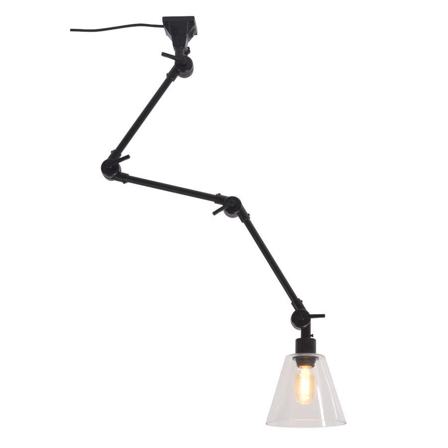 Wandlamp / Plafondlamp Amsterdam glas maat L-2