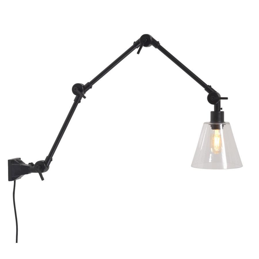 Wandlamp / Plafondlamp Amsterdam glas maat L-1