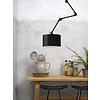 It's about RoMi Plafond/wandlamp Amsterdam L met lampenkap textiel L