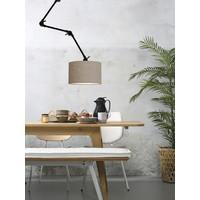 thumb-Plafond/wandlamp Amsterdam L met lampenkap textiel L-7
