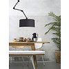 It's about RoMi Plafond/wandlamp Amsterdam L met lampenkap textiel XL