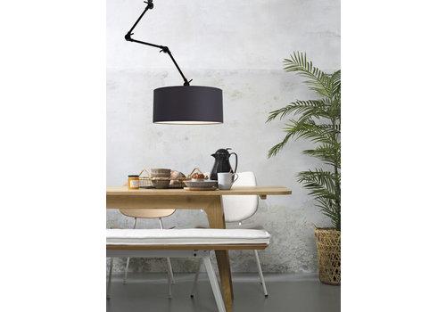 Plafond/wandlamp Amsterdam L textiel XL