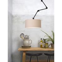 thumb-Plafond/wandlamp Amsterdam L met lampenkap textiel XL-3