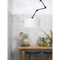 thumb-Plafond/wandlamp Amsterdam L met lampenkap textiel XL-2