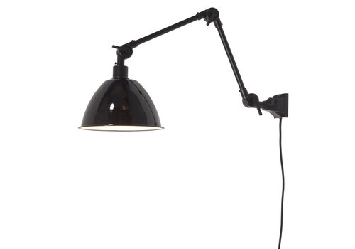 Plafond/wandlamp Amsterdam metaal M