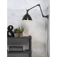 thumb-Wandlamp / Plafondlamp Amsterdam metaal zwart (maat M)-2