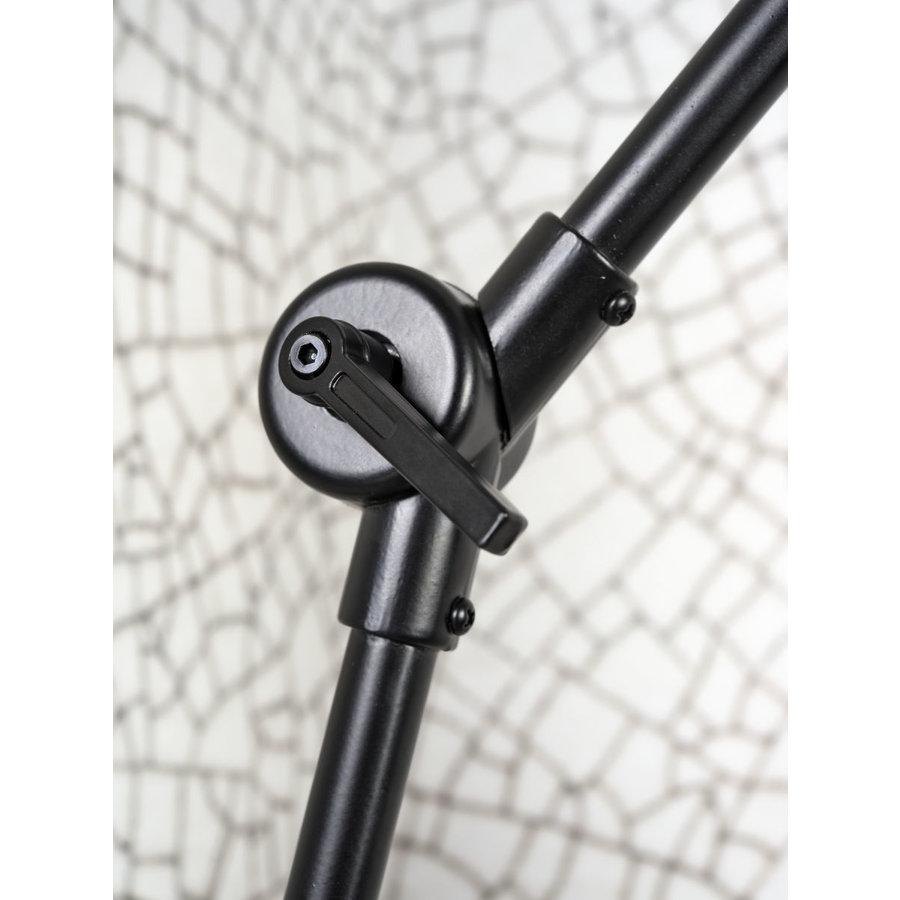 Wandlamp / Plafondlamp Amsterdam metaal zwart (maat M)-5