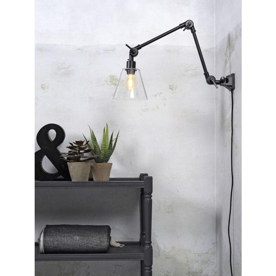 Wandlamp / Plafondlamp Amsterdam glas maat M-3