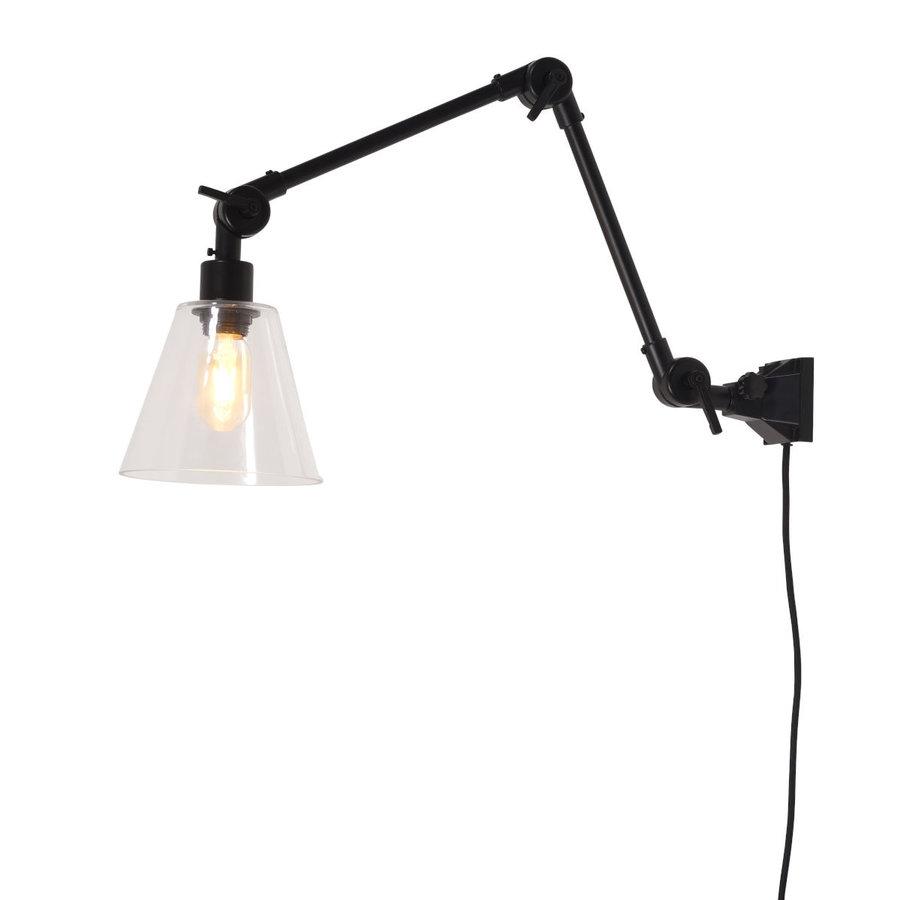 Wandlamp / Plafondlamp Amsterdam glas maat M-1