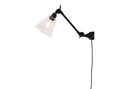 Plafond/wandlamp Amsterdam glas S