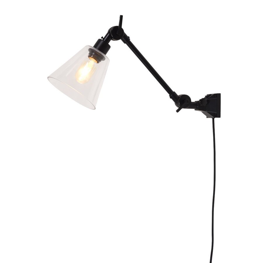 Wandlamp / Plafondlamp Amsterdam glas maat S-1