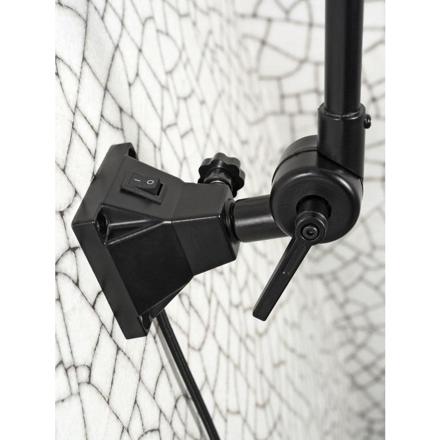 Wandlamp / Plafondlamp Amsterdam metaal zwart (maat S)-7