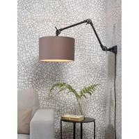 thumb-Plafond/wandlamp Amsterdam M met lampenkap textiel L-7