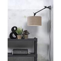 thumb-Plafond/wandlamp Amsterdam S met lampenkap textiel L-8
