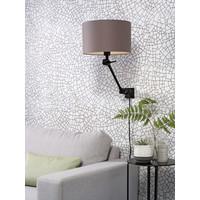 thumb-Plafond/wandlamp Amsterdam S met lampenkap textiel L-7