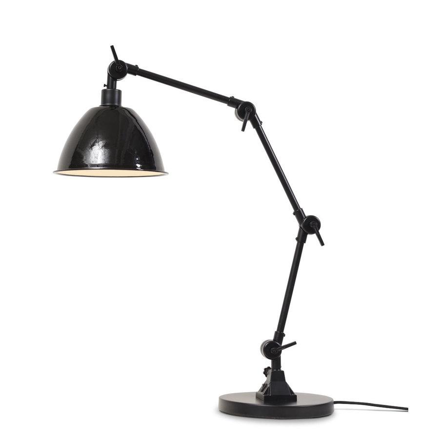 Tafellamp Amsterdam metaal zwart-1