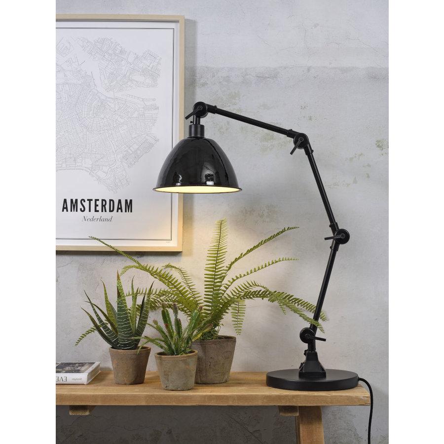 Tafellamp Amsterdam metaal zwart-2