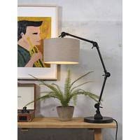 thumb-Tafellamp Amsterdam  met lampenkap textiel-8