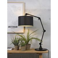 thumb-Tafellamp Amsterdam  met lampenkap textiel-1