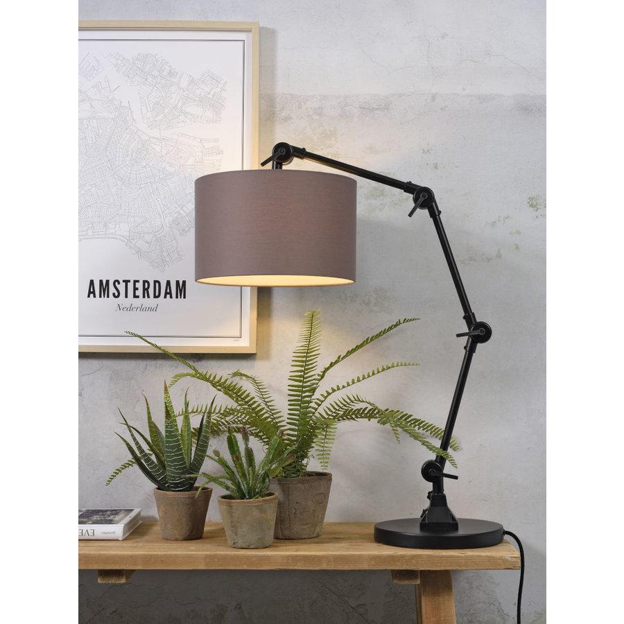 Tafellamp Amsterdam  met lampenkap textiel-7