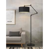 thumb-Vloerlamp Amsterdam met lampenkap textiel-2