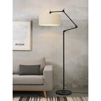 thumb-Vloerlamp Amsterdam met lampenkap textiel-9