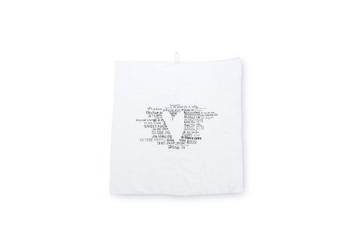 Tea Towel Happy Heart