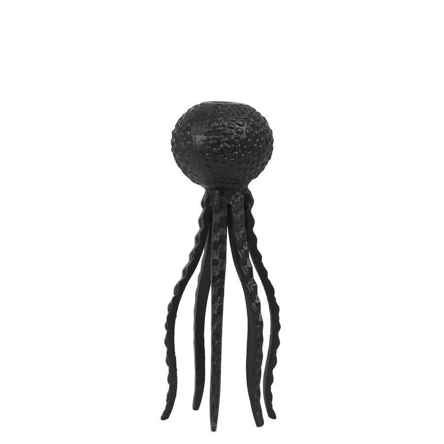 Kandelaar Octopus zwart-1