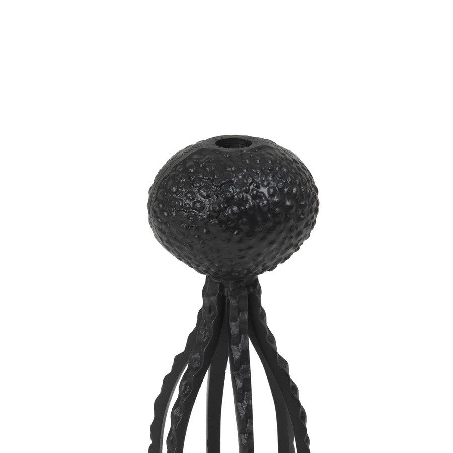 Kandelaar Octopus zwart-2