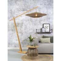 thumb-Vloerlamp Bali bamboe verstelbaar-2