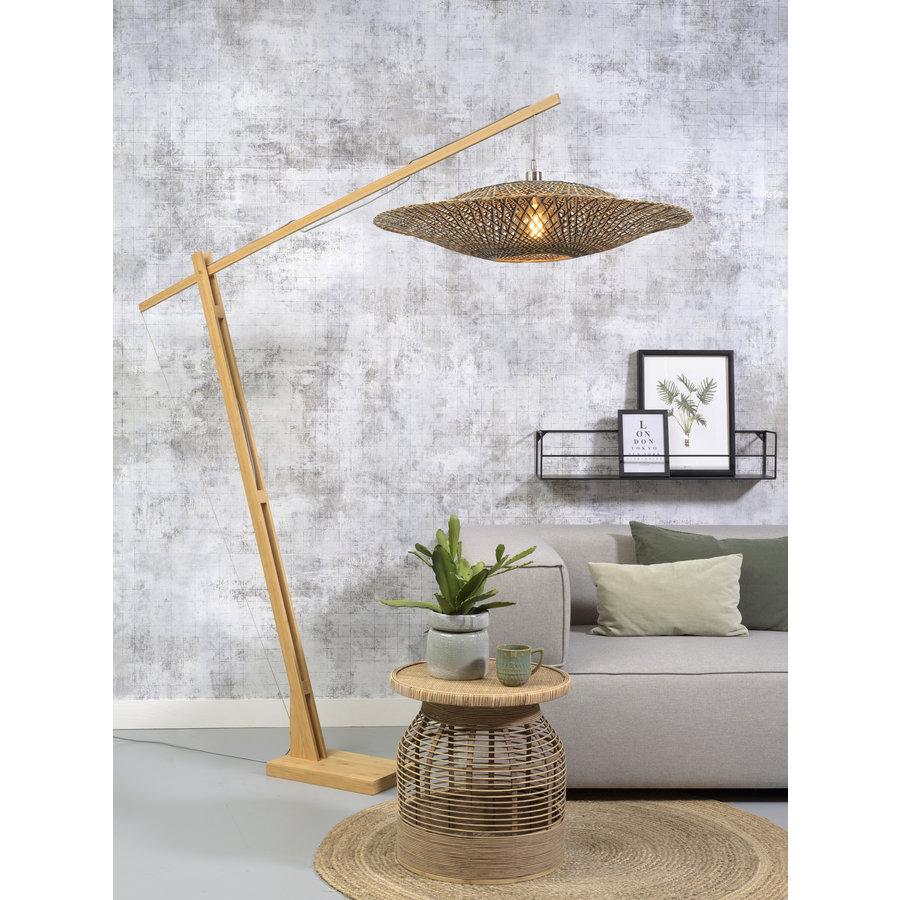 Vloerlamp Bali bamboe verstelbaar-2
