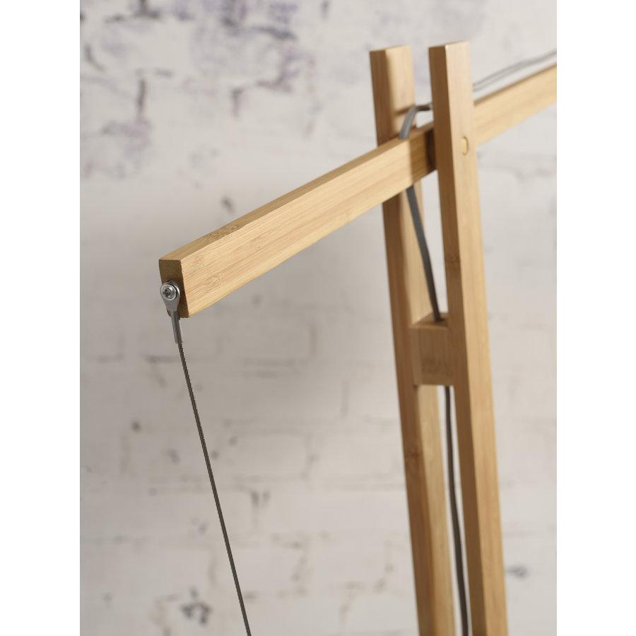Vloerlamp Bali bamboe verstelbaar-7