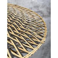thumb-Wandlamp Bali bamboe dia.44x12cm zwart/naturel, S-8