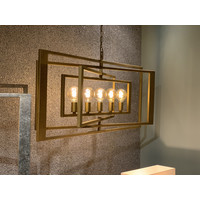 thumb-Hanglamp AVENUE in zilver of brass-2