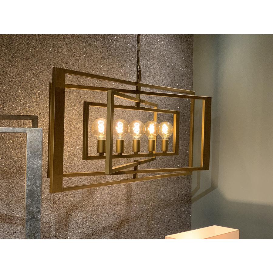Hanglamp AVENUE in zilver of brass-2