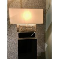 thumb-Tafellamp AVENUE in zilver of brass-3
