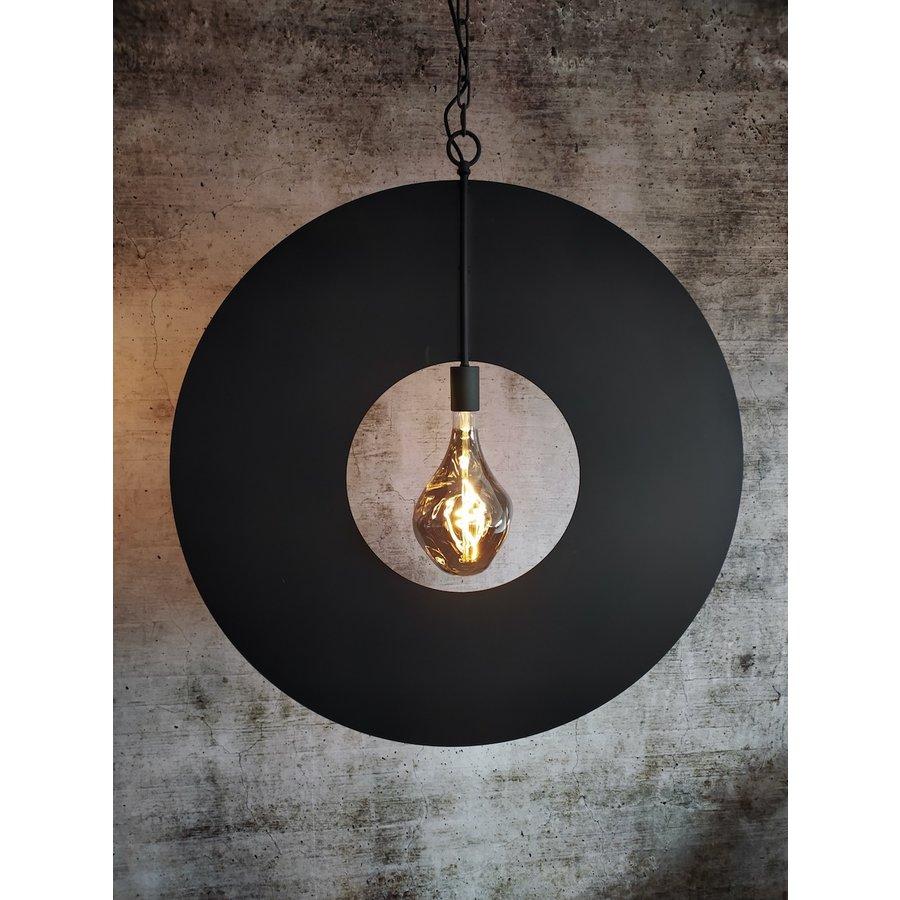 Hanglamp Corum in ambachtelijk metaal, 4 kleuren, 2 maten-3