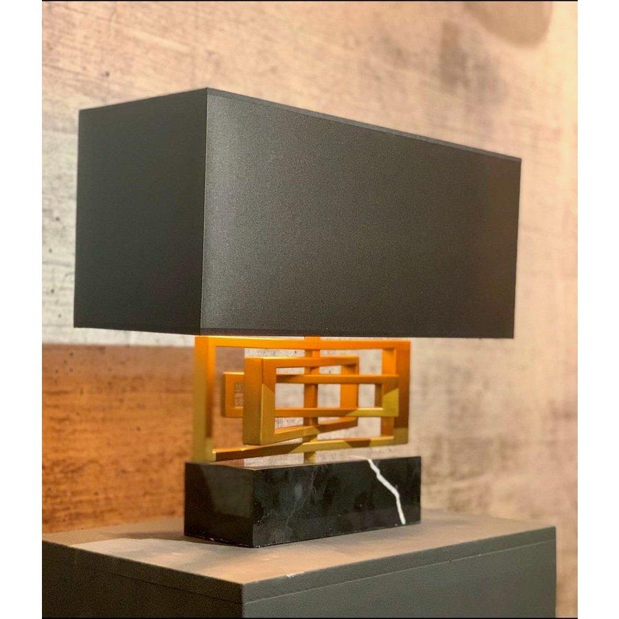 Tafellamp AVENUE in zilver of brass-2
