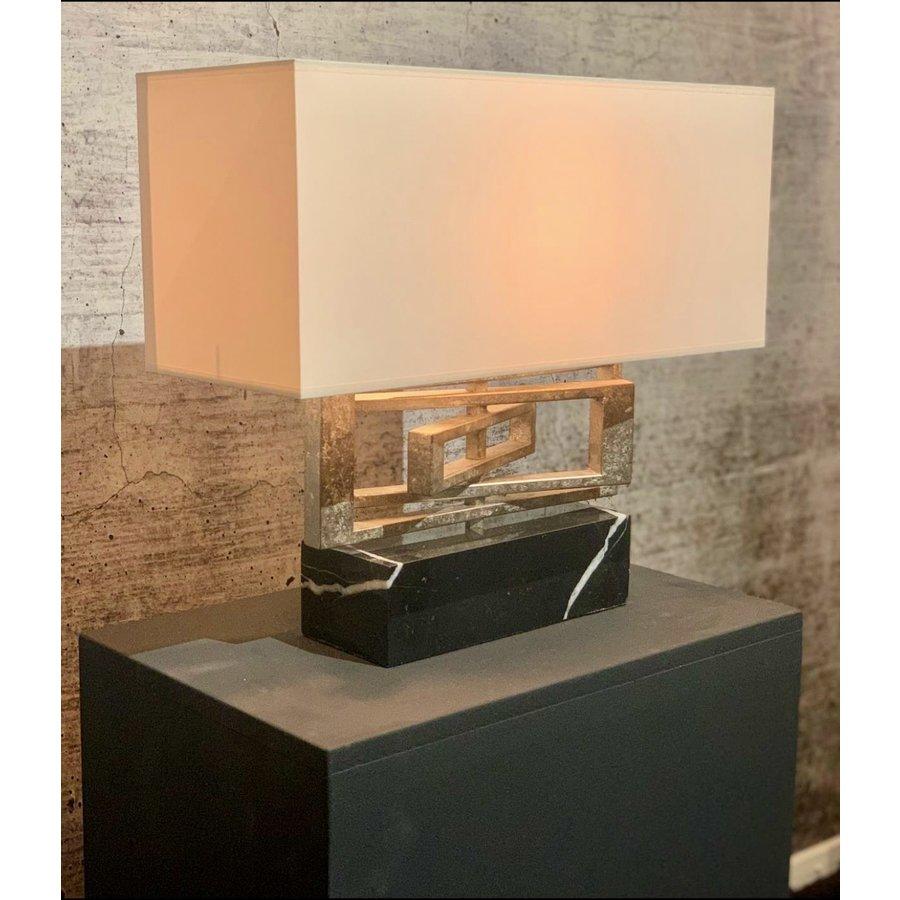 Tafellamp AVENUE in zilver of brass-1