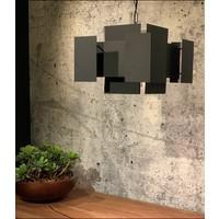 thumb-Hanglamp LUX in Brass of Industrial Dark-1