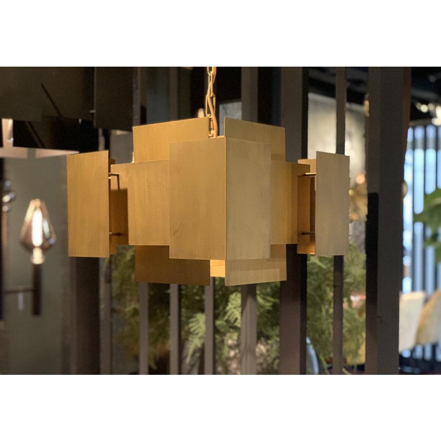 Hanglamp LUX in Brass of Industrial Dark-4