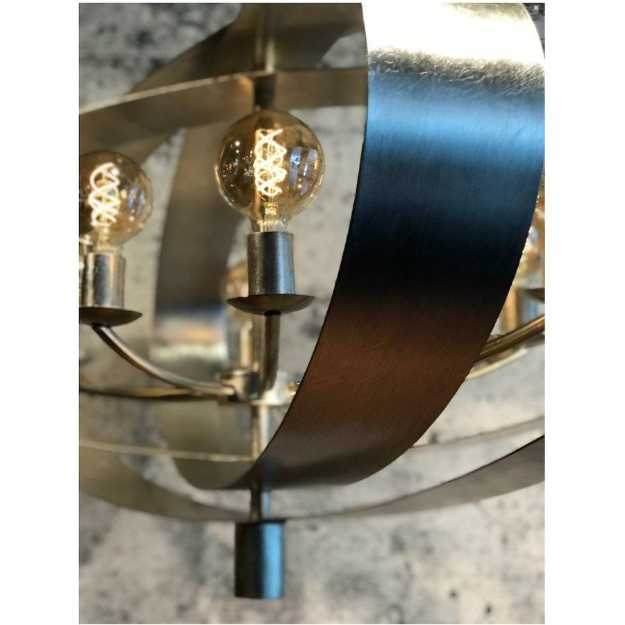 Hanglamp Malibu in bladzilver of industrial dark-8