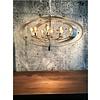 Leclercq & Bouwman Hanglamp Malibu in bladzilver of industrial dark