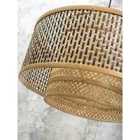 thumb-Wandlamp Bhutan bamboe zwart verstelbaar-5