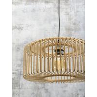 thumb-Vloerlamp BROMO bamboe zwart met lampenkap in 2 maten-8